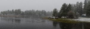 Horsethief Reservoir Snow 2012-05-05 1 by eRality
