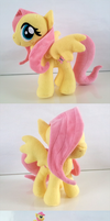 Fluttershy Plushie by Rubybaga