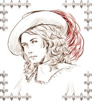 APH France as a musketeer by morrigann11
