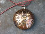 Stainless Steel Sea Urchin Pendant by ou8nrtist2
