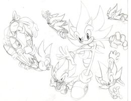 Hyper Sonic Preview Sketch by THEATOMBOMB035