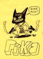 Pika gangster by mikey-c