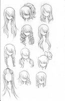Anime Hair 2 by LoveAsianMusic