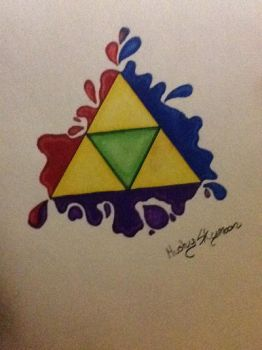 Triforce by Mushy-skymoon
