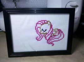 Fluttersleep Cross Stitch by sparklepeep