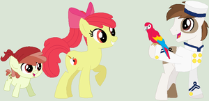 My Headcanon Future: Apple Bloom and Pipsqueak by Lost-Our-Dreams
