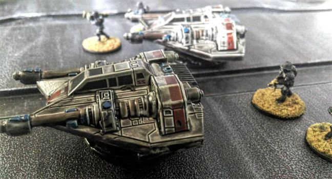 15mm Nathi Interceptor Craft by Spielorjh