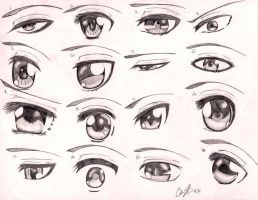 Arsenal of Eyes!!! by YaoiButler-Sai