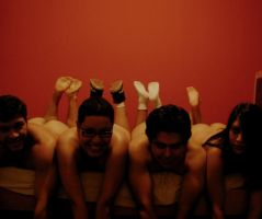 Naked Friends 2 by Cati-xD