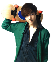 EXO M - Lay [PNG] by Deerhansic