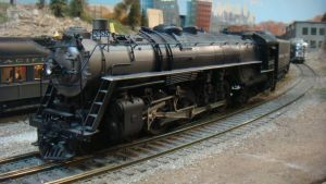 O Scale Northern 2685 by BNSF