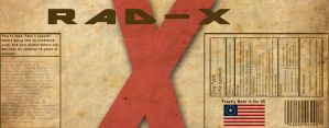 High Res Rad-X label by appleofecstacy