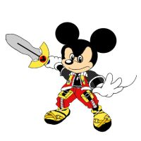 Kingdom Hearts King Mickey by Death-Driver-5000