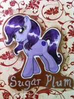Holiday Pony Adoptable Sugar Plum by bittykitty