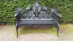 Garden Bench 01 by cemacStock