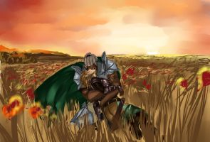Warden and Sten by Galaxia0