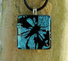 Blue Butterfly Fused Glass by FusedElegance