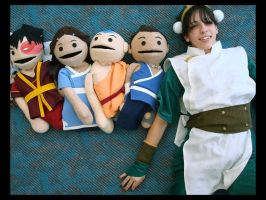 SDCC08 - Where is Puppet Toph? by zvko