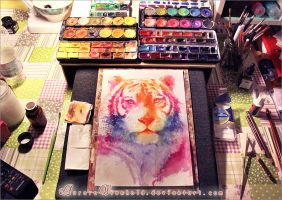 Rainbow stripes - Workspace preview by AuroraWienhold