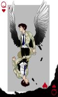 Castiel, The Queen of Hearts by the-velociraptor