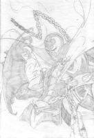 Spawn Pencil by Przemo85