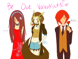 PGA: Be Our Valentines? by NeonPinkSkys