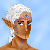Finirial Lavellan by Lainpinky131
