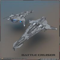 LOWPOLY Battleship by PINARCI
