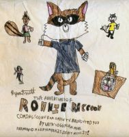 First Ever Ronnie Raccoon 1990 by ronnieraccoon