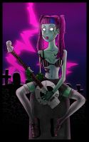 DESPskeletonGuitar by Agent4