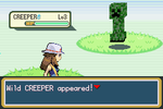 Creeper in Pokemon Fire Red by sonicnews