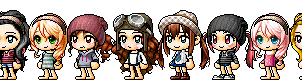 | Previous Maplestory Looks | by BellieBear