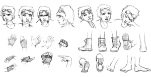Character Concept Anatomy by UnInfinitum