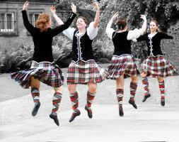 Highland dancing by printsILike
