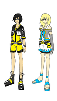 KH - Xion and Namine Concept by CherryBlossoms24