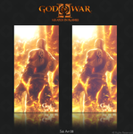 Kratos in Flames by SckOne