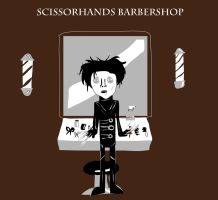 Scissorhands Barbershop by ralph0