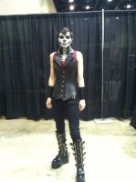 Face paint and outfit by DJesterS