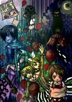 Vocaloid: Dark Wood Circus by wk-omittchi
