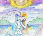 Watercolour Pencil - Nice to meet you, Luna by Suzy-ISAW