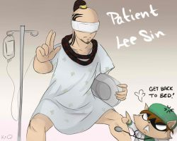 Patient Lee Sin by KittyConQueso