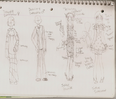 District 4 Interview Costume and Sofee Int./Parade by Nami-Chan1999