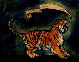 Tiger Banner by julip