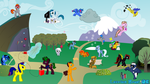 Latvian Brony OC Wallpaper by AFtwi