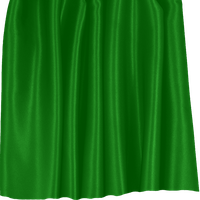 Green Satin Curtain / Drape PNG by clipartcotttage