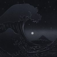 The Great Wave That Swallowed The Moon by cow41087