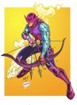 Hawkeye by Jonboy color by TMD by DONAHUE-t