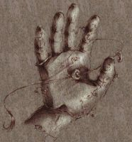 'Hand' Study by Surrealismit