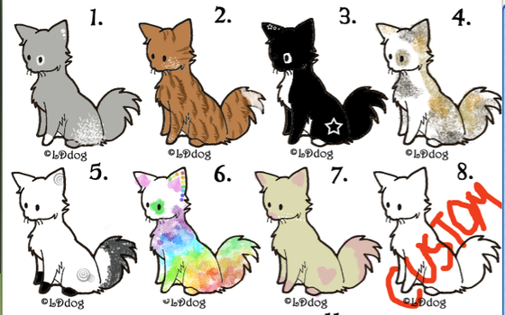 Cat adopts! by SapphireCookie