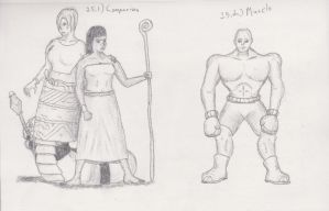 Figure 25 - Comparison and Muscley by TheHiddenElephant
